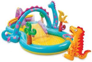 افضل مسبح اطفال نفخ بلاستيك وكيفية الاختيار inflatable pool -57135-مجموعة-العاب-وبركة-سباحة-للاطفال-متعدد-الالوان-300x201