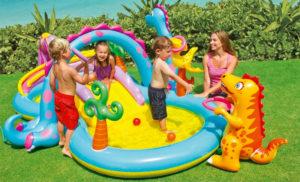 افضل مسبح اطفال نفخ بلاستيك وكيفية الاختيار inflatable pool -سباحة-للاطفال-300x182