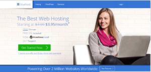 افضل شركة استضافة مواقع وردبرس bluehost